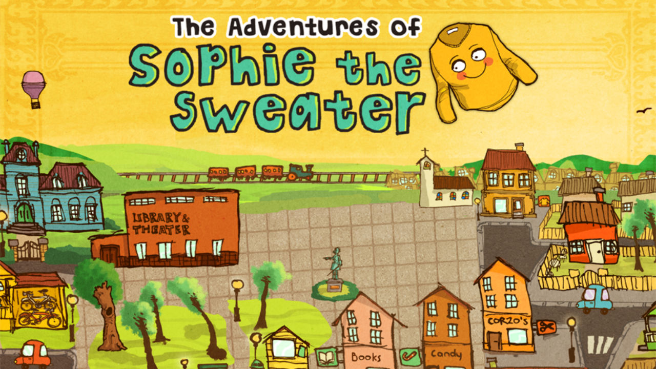 The adventures of Sophie the Sweater